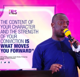 CEO speaks at the International Youth Empowerment Summit (IYES)