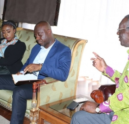 YEA visits former President Kufuor