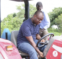 YEA begins a 500 acre maize farm at Wenchi - Branam